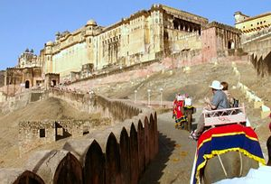 Amber fort with car with driver in india www driverindia net