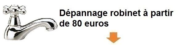 Tarif depannage robinet plombierargenteuil 95100