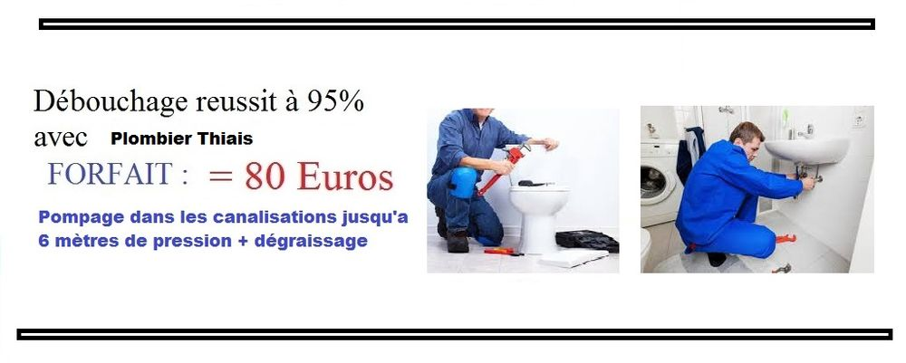 Debouchage canalisation wc evier lavabo Thiais