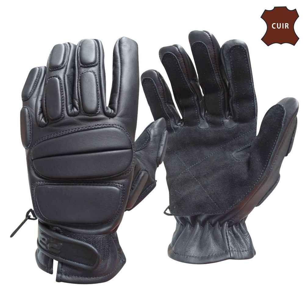 GANTS CUIR SWAT NEW DESIGN
