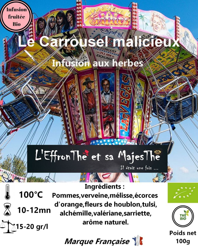 Infusion Bio Le carrousel malicieux 100gr vrac