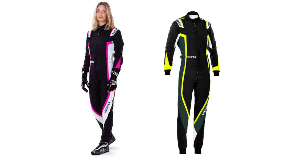 Combinaison karting femme Sparco Kerb Lady