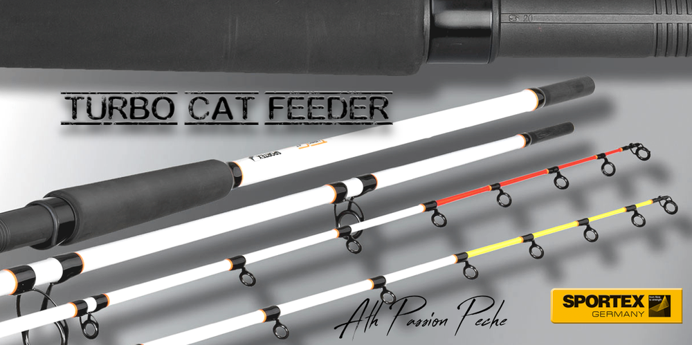 canne Sportex Turbo Cat Feeder 360 cm 180-  gr